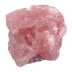 quartzo rosa - bruto