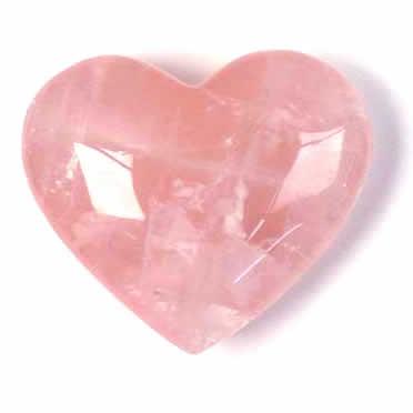 quartzo rosa - coracao