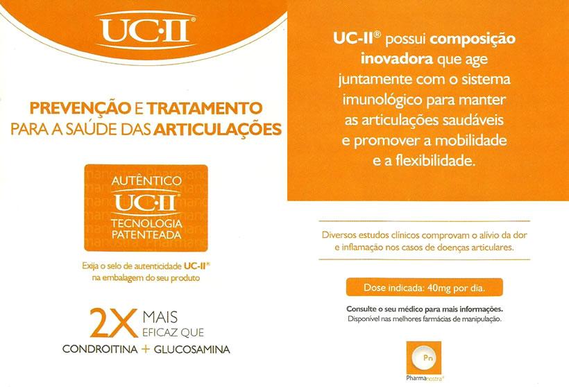 Prevenção e tratamento para a saúde das articulações - Autêntico UCII Tecnologia patenteada