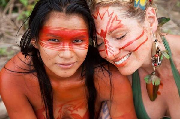 Maquiagem India
