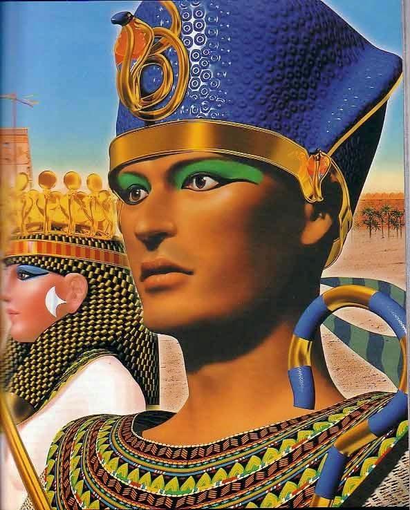 Homem Egip. Maquiagem