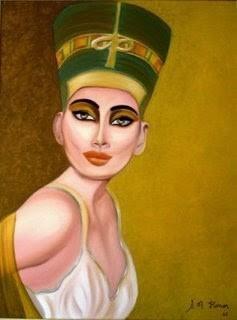 Maquiagem Egip. bela