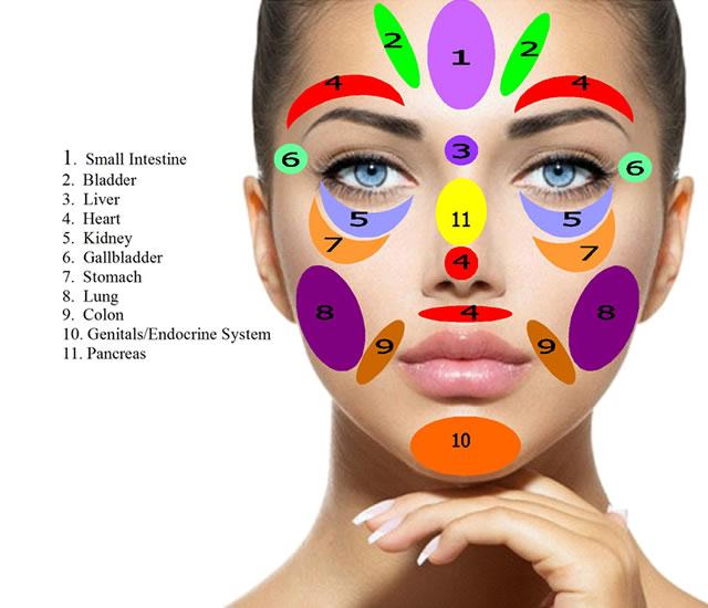 reflexologia rosto