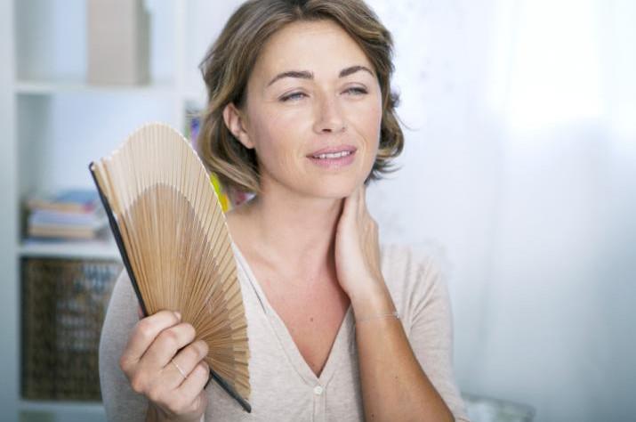 calor menopausa