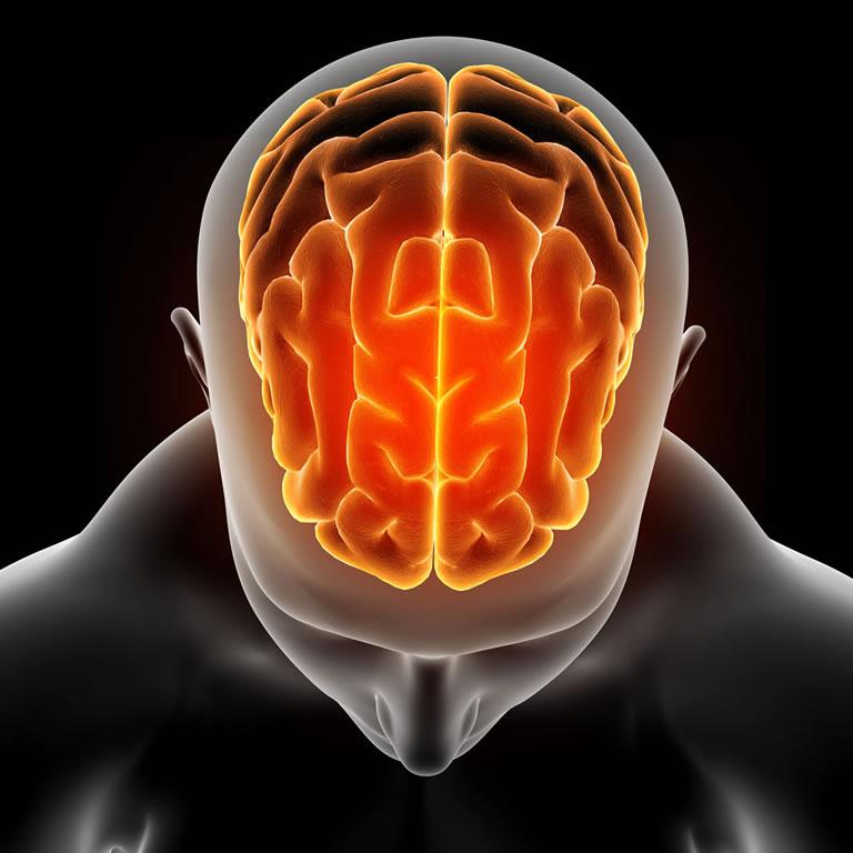 Cerebro em depressao